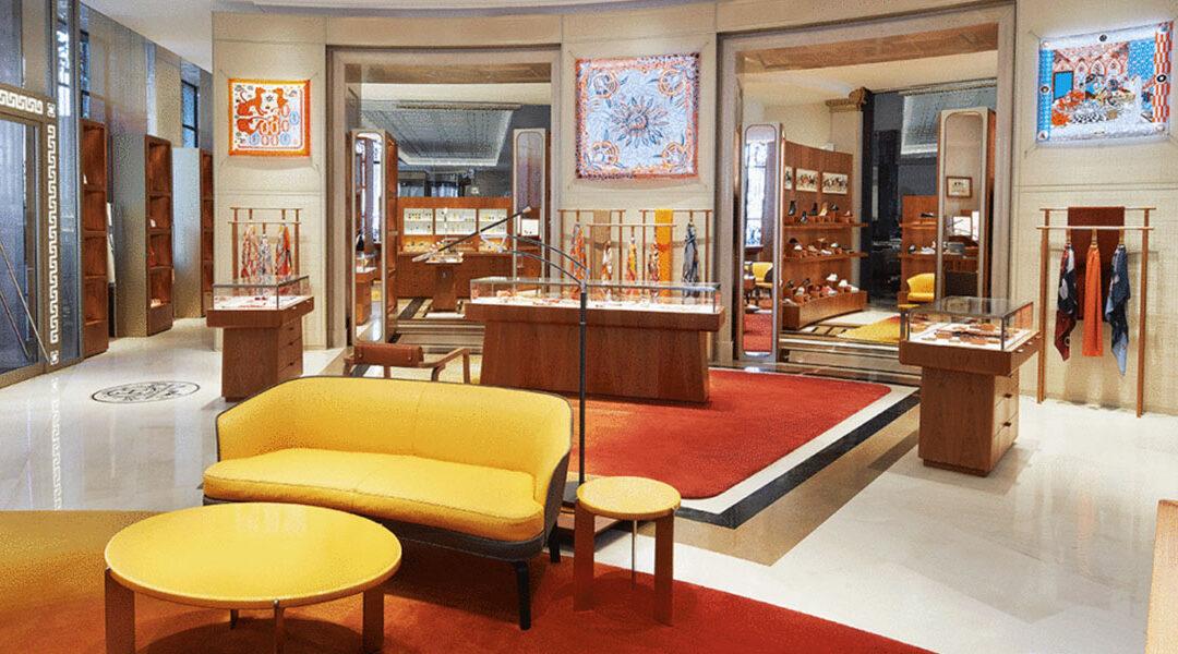 Hermès confía en IC Construction para la ejecución de su tienda ubicada en Galería Canalejas