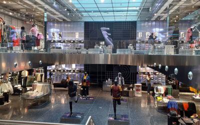 Nike presenta en Barcelona su tienda más urbana y grande de España, ejecutada por IC Construction